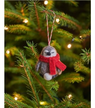 Percy the Penguin Christmas Decoration
