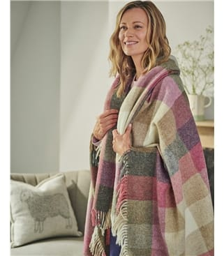 Bronte By Moon Harlequin Throw