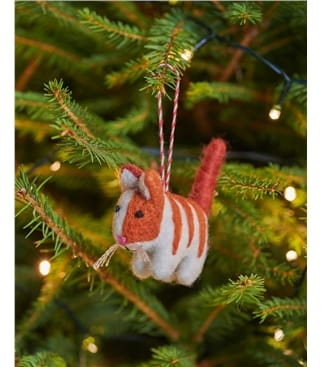 Carly Kitty Cat Christmas Decoration