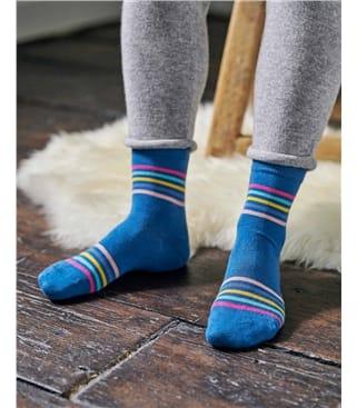 Rainbow Bamboo Sock
