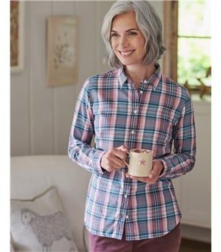 Женская рубашка из органического хлопка