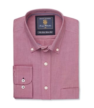 Soft Oxford Button Down Collar Shirt