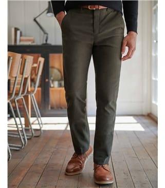 Kerswell Cotton Moleskin Trouser