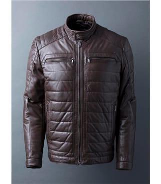 Laithes Leather Biker Jacket