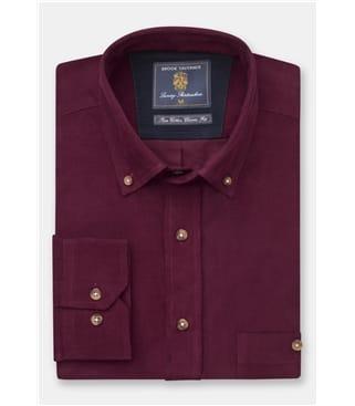 Fine Needle Cord Shirt