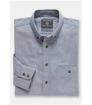 Brushed Herringbone Soft Touch Shirt