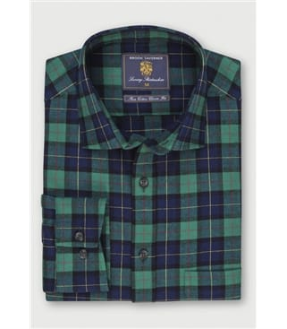Brushed Cotton Tartan Check Shirt