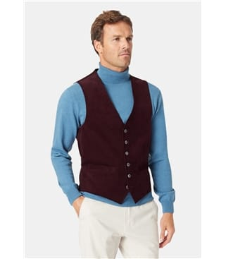 Faldo Casual Cord Waistcoat