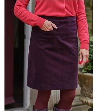 Cut Cord Skirt