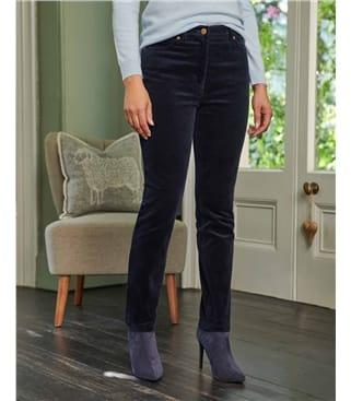 Jean en velours - Femme - Coton Bio