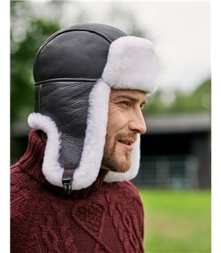Mens Trapper Hat