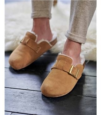 Sheepskin Footbed Slipper