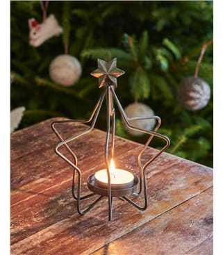 Wire 3D Candle Holder