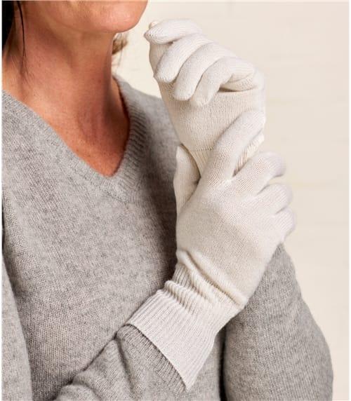 Cashmere & Merino Gloves