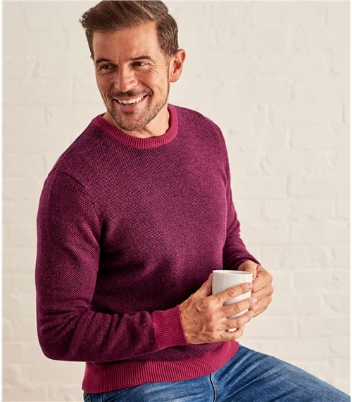 Mens 2 Tone Jumper