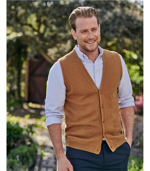 Lambswool Knitted Vest