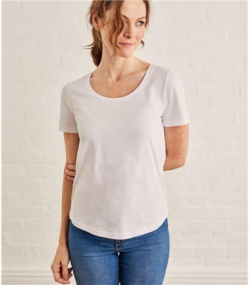 Женская футболка с короткими рукавами
