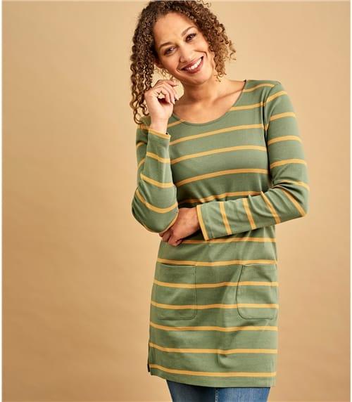 Womens Pure Cotton A Line Tunic