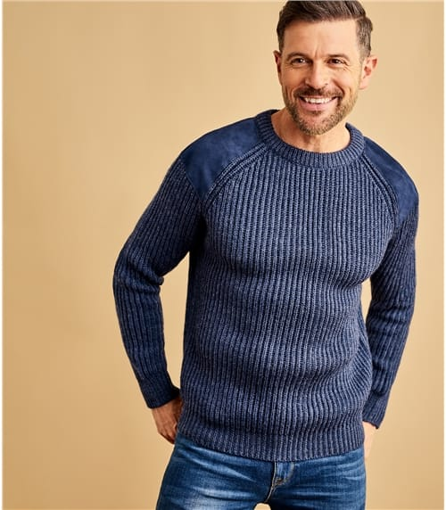 Mens Pure Wool Countryman Jumper