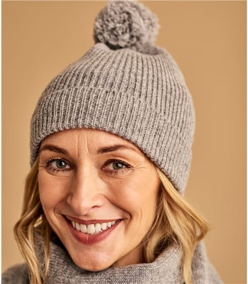 Womens Basic Lambswool Hat