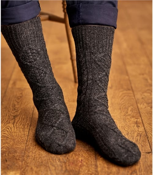 Носки из шерсти ягненка