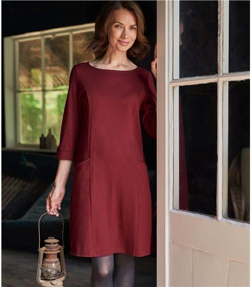Tunique à coutures apparentes - Femme - Jersey