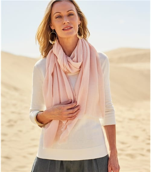 Womens Wool Herringbone Pashmina
