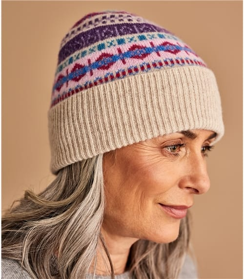 Womens Fairisle Hat