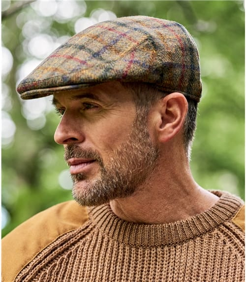 Casquette plate - Homme - Pure Laine