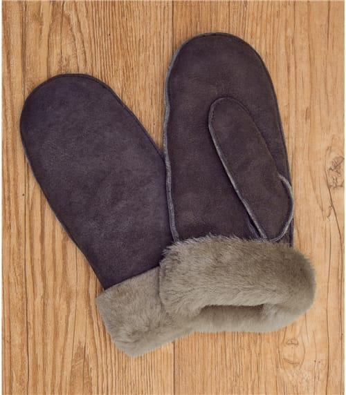 Moufles fourrées - Femme - Peau de mouton