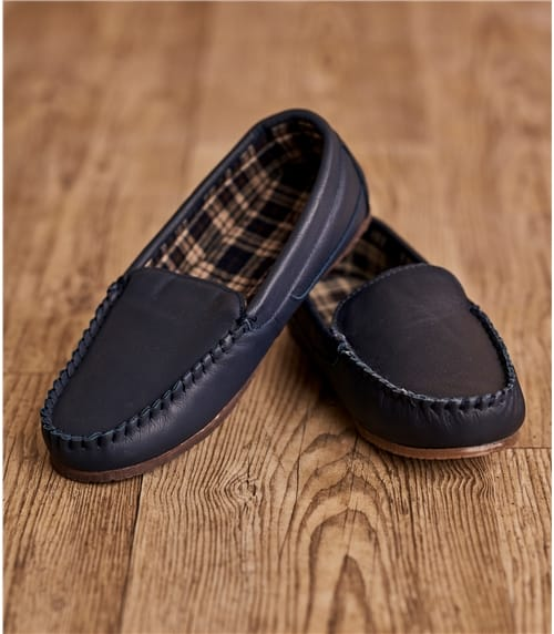 Mens Leather Moccasin