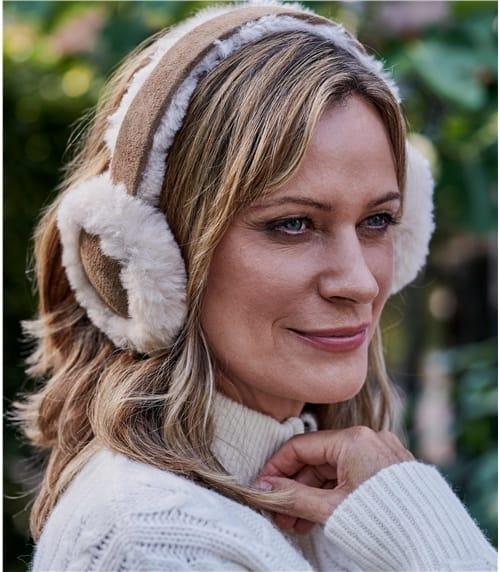 Cache-oreille - Femme - Peau de mouton