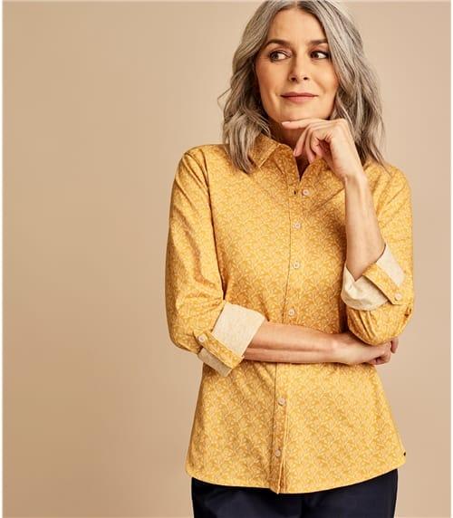 Jersey Hemd aus Baumwolle für Damen