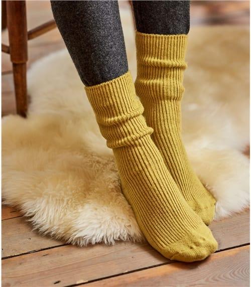 Женские носки из кашемира и шерсти мериноса
