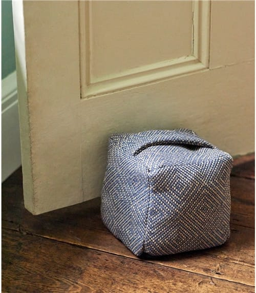 Wool Cotton Blend Door Stop