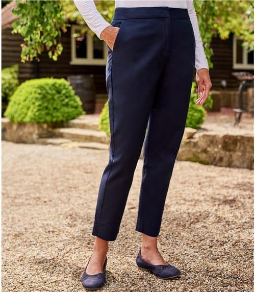 Женские брюки-сигареты
