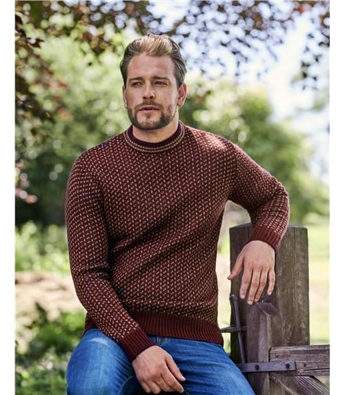 Pure Wool Double Stitch Jumper