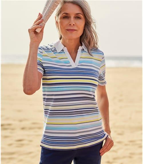 Polo à manches courtes - Femme - Jersey