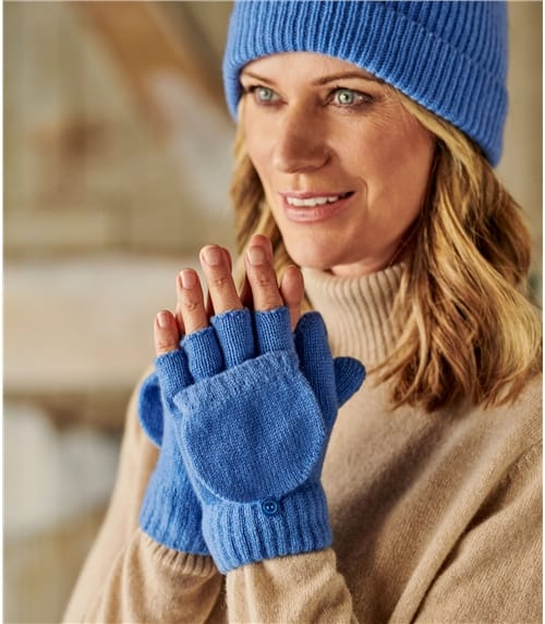 Capped Mittens