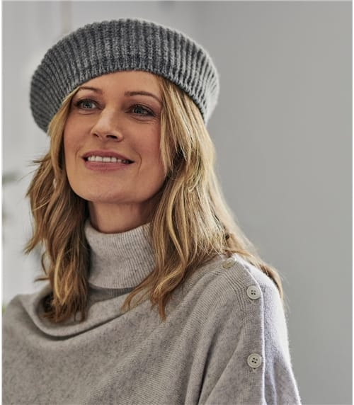 Lambswool Plain Beret