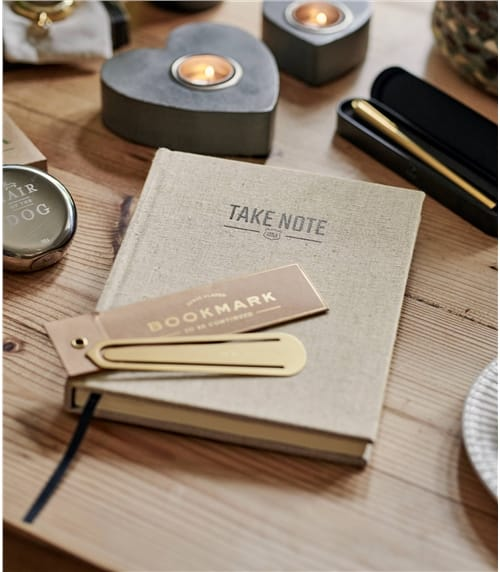 Linen Covered Notebook