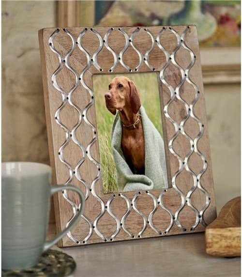 Lattice Photo Frame 6x4
