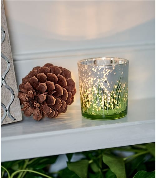 Tea Light Holder Grass