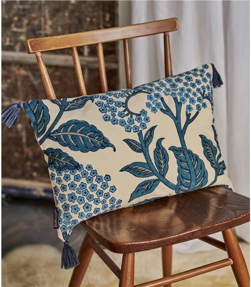 Printed Cotton Rectangular Cushion Cover