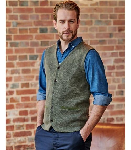 Organic Cotton Cashmere Vest