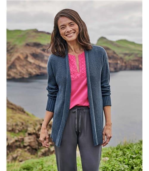 Edge To Edge Organic Cotton Cardigan