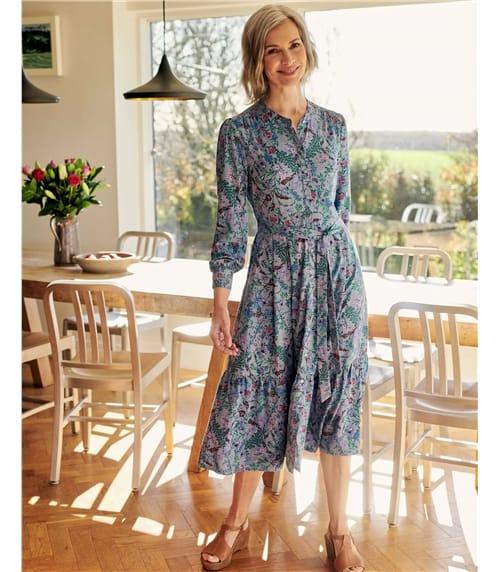 Softly Tiered Dress