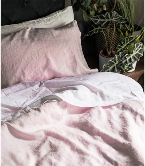 Woolovers x Piglet Standard Pair of Pillowcases