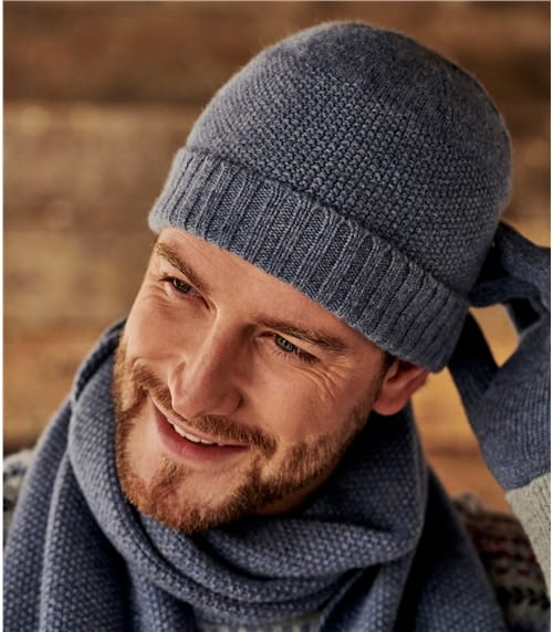 Mens Essential Lambswool Hat