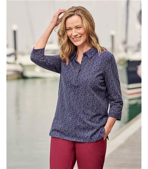 Chemise longue - Femme - Jersey